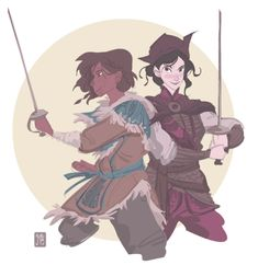 Did a quick Pirate!Korra sketch to match~