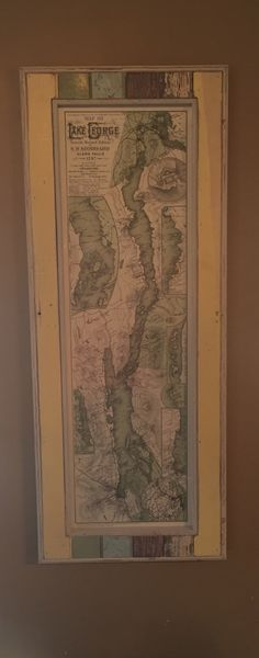 A personal favorite from my Etsy shop https://www.etsy.com/listing/254302765/sr-stoddard-map-lake-george-custom