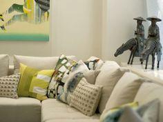 Contemporary Living Rooms from Joe Human : Designers' Portfolio 6492 : Home & Garden Television