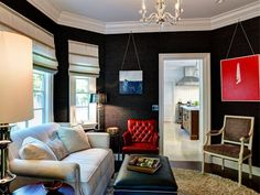 Stunning living room! I love the colors and textures. Built by: Synergy General Contractors, Inc.