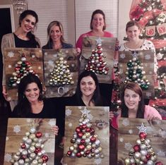 Fun girls craft night project - You Are Pin Shared by SPCN.Two of them got demon eyesBest diy christmas gifts homemade for kids And Crafts Ideas For Toddlers Noel Christmas, Diy Christmas Gifts, Rustic Christmas, Winter Christmas, Christmas Wreaths, Christmas Ornaments, Christmas Girls, About Christmas, Simple Christmas