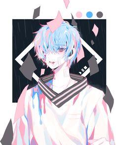 Cute Anime Character, Character Art, Character Design, Cool Anime Guys, Hot Anime Boy, Anime Boys, Dark Anime, Anime Chibi, Anime Kunst