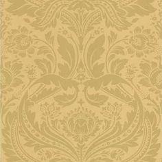 Graham & Brown Mustard/gold Desire Wallpaper