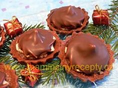 Košíčky Izidor Christmas Candy, Christmas Cookies, Christmas Holidays, Russian Recipes, Holiday Recipes, Recipies, Food And Drink, Cooking Recipes, Pudding