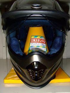 helmet stand for 100yen