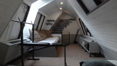 Attic remodel - it's definitely not useless anymore. Website shows how it was structurally designed