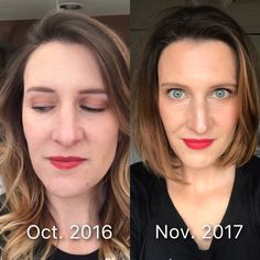 Do something that makes you glow from within. What you might see here is a photo comparing skin and makeup. Yes you may see that one is visibly more natural, more glowy. I see confidence. I'm wearing that red lip with a confidence I never had. I'm finally looking at the camera! That is the most important difference. I'm confident and glowing from within enough that I will look life straight in the eyes instead of shying away! So make sure you do the same, because you owe it to yourself!