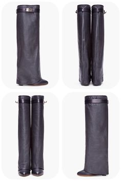 ☆ Givenchy boots ☆  #leather #boots #givenchy