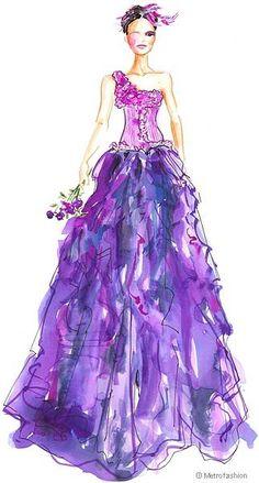 unique prom dress design