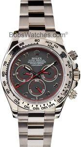 Rolex Daytona Cosmograph White Gold 116509 - At Bob's Watches