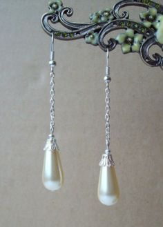 Every girl needs a sophisticated pair of pearl earings