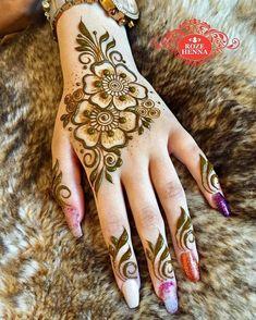 Enhance your skin with a feminine henna tattoo symbol - Henna Designs - Henna Designs Hand Henna Hand Designs, Mehndi Designs Finger, Mehndi Designs For Girls, Mehndi Designs For Beginners, Modern Mehndi Designs, Mehndi Design Photos, Mehndi Designs For Fingers, Beautiful Mehndi Design, Latest Mehndi Designs