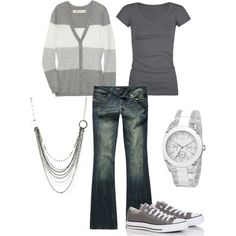 grey & casual
