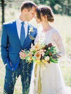 Photography: Daniel Kim Photography - danielkimphoto.com Floral Design: Posies Florals - www.posiesfloral.com Wedding Dress: Love Marley - www.lovemarley.com