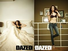 Actress Kim Hyo Jin gets comfortable in underwear for 'Dazed and Confused'