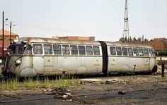 """Trenes y tiempos: Los automotores de la postguerra (II): De """"rácanos"""" a """"talguillos"""" (RENFE 9002-9013 reformados)"""