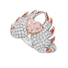 Van Eyck Jewelry Victoria's Riflebird Ring.
