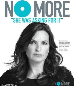 Mariska Hargitay founded the Joyful Heart Foundation in 2004 to help sexual assault survivors heal after gaining a new perspective by playing Detective Olivia Benson on Law & Order: SVU. She teamed up last September with the group No More to create public service announcements challenging common assumptions made about victims of sexual violence