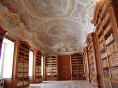 Monastery Library Herzogenburg: on weheartit. 145 manuscripts were filmed for HMML. Find them here http://www.hmml.org/research2010/research10.htm