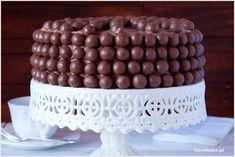 Tort czekoladowy z Maltesersami - I Love Bake Nutella, Oreo, Birthday Cake, Sweets, Baking, My Love, Desserts, Recipes, Food