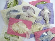 Mix and match Hydrangea Petal Envelopes - Real Flower Petal Confetti | Hydrangeas £2.95 each