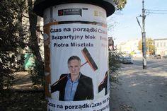 Posprząta u Ciebie w domu, jaki i po politykach! ;) #wyborysamorzadowe2014 #wybory2014 #plakatywyborcze