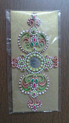 Ornamental paper quilling envelopes