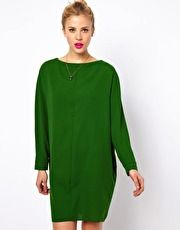 I've got to have this dress! ASOS | ASOS Shift Dress With Batwing Sleeve at ASOS