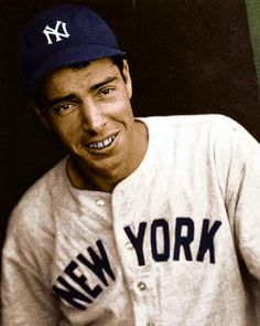 """Joltin'""Joe Dimaggio - also known as the ""Yankee Clipper"" who played Centerfield for the New York Yankees."
