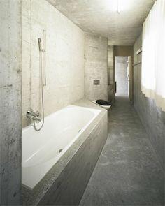 Casa Presenhuber - Vnà, GR, Switzerland - 2007 - Andreas Fuhrimann, Gabrielle Hächler Architekten ETH / BSA #architecture #concrete #switzerland