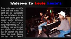 Grab a friend or five and head out to Louie Louie's Dueling Piano Bar. Bring a playlist of your favorite songs and let the guys at Louie Louie's do the rest. From Buh-buh-buh-Bennie and the Jets to Sweet Home Alabama, the music doesn't stop until the clock strikes 2 a.m. All they ask is that you don't bring your own piano…CHEERS!    www.louielouiespianobar.com/home.html
