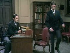 Ministry of Silly Walks. Another Monty Python classic.
