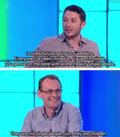 Jon Richardson & Sean Lock // I absolutely love 8 out of 10 cats I feel it's getting more popular in the US too! ^.^ I hope that doesn't influence their content....