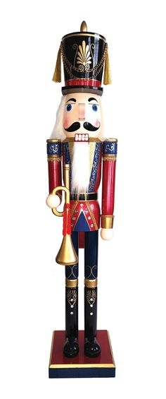 Features:  -Hand crafted and hand painted details.  -Made of wood.  Quantity: -Individual Item.  Product Type: -Nutcrackers.  Holiday Theme: -Yes.  Seasonal Theme: -Yes.  Holiday: -Christmas.  Season: