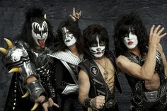 Gene Simmons, Paul Stanley, Eric Singer and Tommy Thayer are heading our way this October.