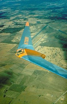 Horten Ho IV by amphalon, via Flickr