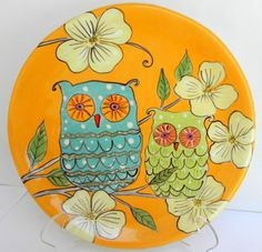 Owls in the Blossom Plate | Flickr - Photo Sharing!