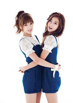 Chorong & Bomi ♡ A Pink ♡ 10asia