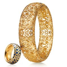 Paloma Picasso Marrakesh ring and bracelet, Tiffany & Co.