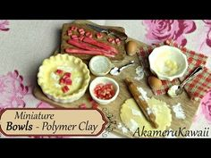 Miniature Chocolate Cake + Finishing details on miniature baking scene - Polymer Clay Tutorial - YouTube