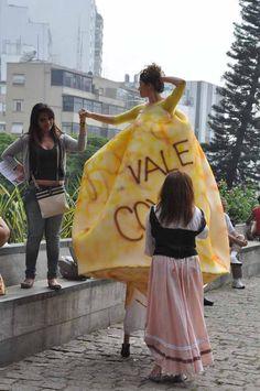 PREPARATIVOS DO ATO PÚBLICO PERFORMÁTICO - VALE COXINHA!!!
