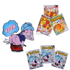 10pcs Funny Fart Bomb Bags Stink Bomb Smelly Funny Gags Practical Jokes Fool Toy Tricky Gift #Affiliate