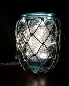 LED Jar Lamp tutorial #BallCanning #masonjar