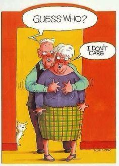 Hahaha!~ Old Age Jokes And Cartoons~ pmcaregivers.com