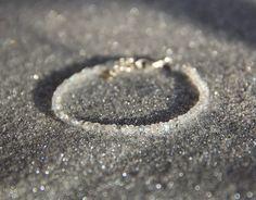 Bracelet tour complet en Pierres de lune (semi-précieuses naturelles), argent massif 925, idée cadeau, bijou fin, myo : Bracelet par myo-jewel