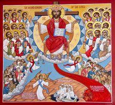 Second Coming Coptic Icon