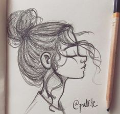 Creative and inexpensive useful tips: Antiagingskincare Anti Aging Beauty ge . - Creative and inexpensive useful tips: Antiagingskincare Anti Aging Beauty ge… – Beauty Home Cre - Girl Drawing Sketches, Cool Art Drawings, Pencil Art Drawings, Sketch Art, Easy Drawings, Drawing Art, Drawing Ideas, Poses References, How To Draw Hair