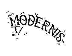 Post modernist by Gunnar Frigaard, via Behance Typo, Behance, Illustration, Illustrations