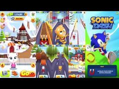 Talking Tom Gold Run And Sonic Run Backward Gameplay For Kids Watch V, Family Guy, Youtube, Gold, Kids, Fictional Characters, Infants, Children, Kid