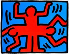 Holiday Gift Guide: Keith Haring Limited Edition Print, 1989.